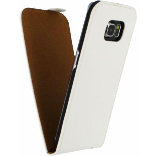 Mobilize Ultra Slim - Etui à clapet pour Samsung Galaxy S6 Edge - Blanc