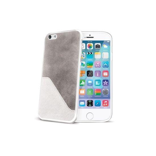 Celly Mix - Coque arrière pour iPhone 6(s) - Blanc