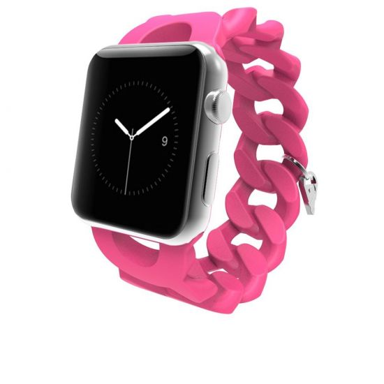 Case Mate Turnlock Strap - Bracelet en Silicone pour Apple Watch 41mm / 40mm / 38mm - Rose