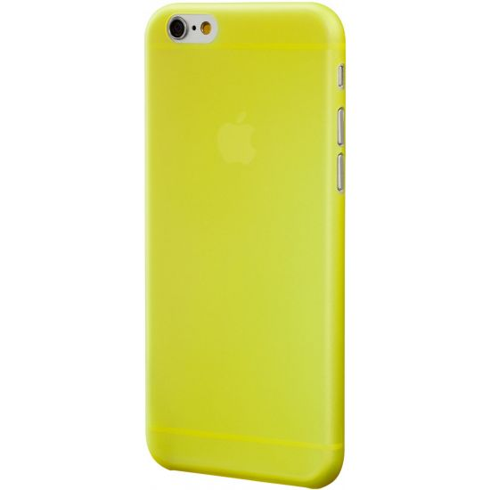 SwitchEasy Ultra Slim - Coque arrière en Plastique rigide pour iPhone 6(s) Plus - Jaune