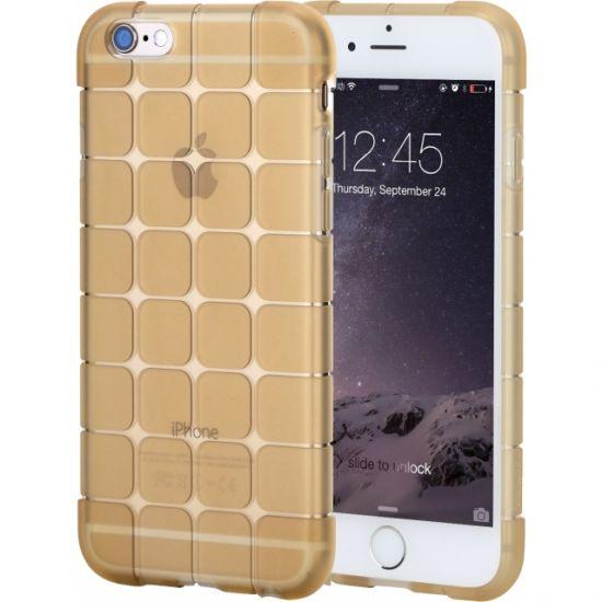Rock Cubee - Coque arrière en TPU pour iPhone 6(s) - Or