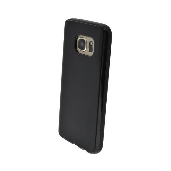 Mobiparts Essential - Coque arrière en TPU pour Samsung Galaxy S7 - Noir