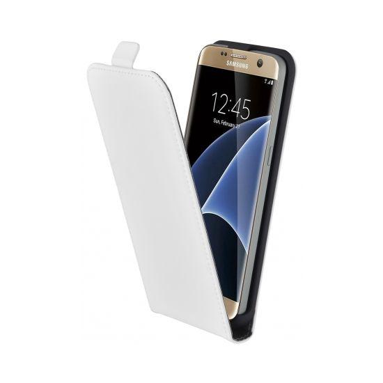 Mobiparts Premium - Etui à clapet pour Samsung Galaxy S7 - Blanc