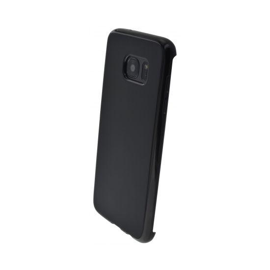 Mobiparts Essential - Coque arrière en TPU pour Samsung Galaxy S7 Edge - Noir