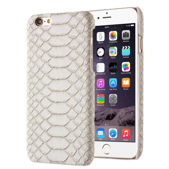 Mobigear Snake - Coque arrière en Plastique rigide pour iPhone SE (2016) / 5S / 5 - Marron