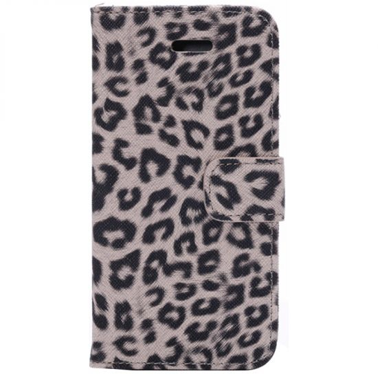 Mobigear Leopard - Etui pour iPhone 6(s) - Marron