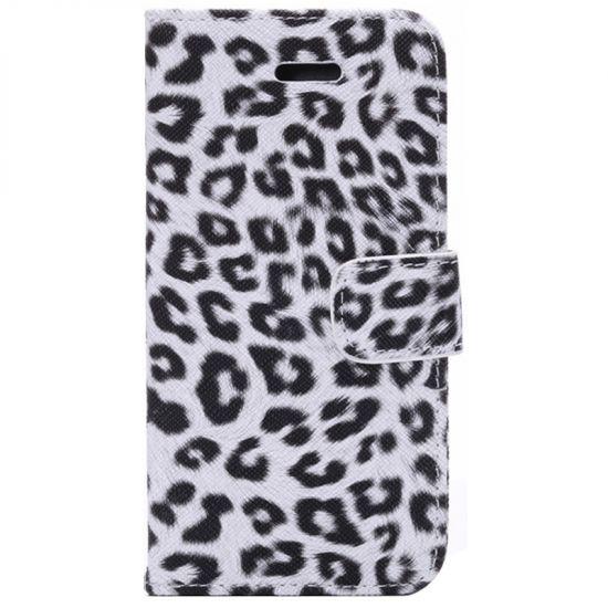 Mobigear Leopard - Etui pour iPhone 6(s) - Blanc