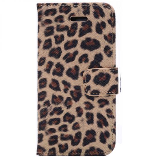 Mobigear Leopard - Etui pour iPhone 6(s) - Jaune