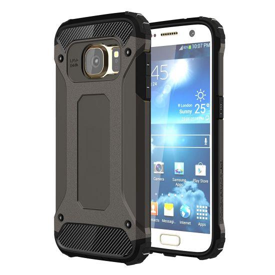 Mobigear Outdoor - Coque arrière en Plastique rigide pour Samsung Galaxy S7 - Noir