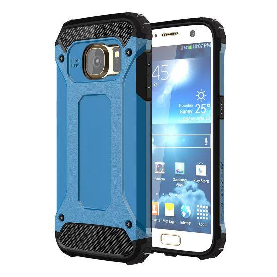 Mobigear Outdoor - Coque arrière en Plastique rigide pour Samsung Galaxy S7 - Bleu