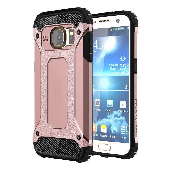 Mobigear Outdoor - Coque arrière en Plastique rigide pour Samsung Galaxy S7 - Rose doré