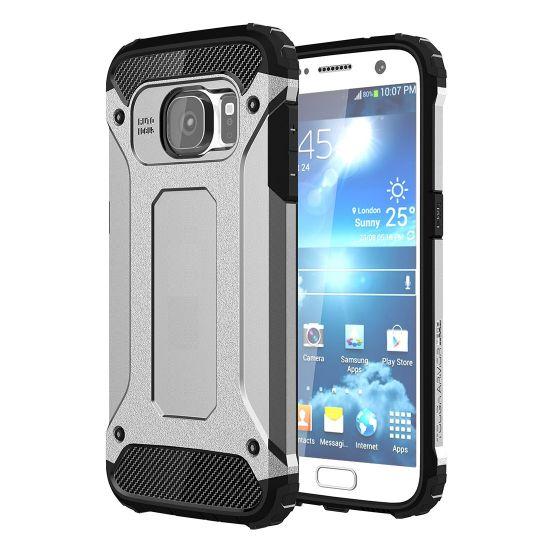 Mobigear Outdoor - Coque arrière en Plastique rigide pour Samsung Galaxy S7 - Argent