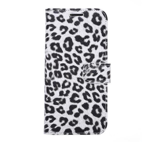 Mobigear Leopard - Etui pour Samsung Galaxy S7 Edge - Blanc
