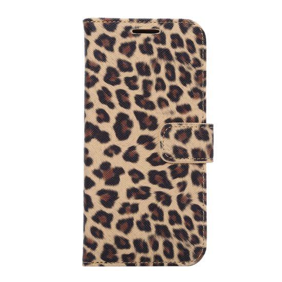 Mobigear Leopard - Etui pour Samsung Galaxy S7 Edge - Jaune