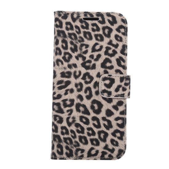 Mobigear Leopard - Etui pour Samsung Galaxy S7 Edge - Marron