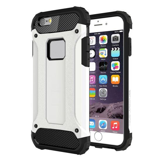 Mobigear Outdoor - Coque arrière en Plastique rigide pour iPhone 6(s) - Blanc