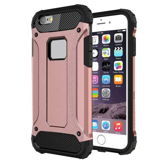 Mobigear Outdoor - Coque arrière en Plastique rigide pour iPhone 6(s) - Rose doré