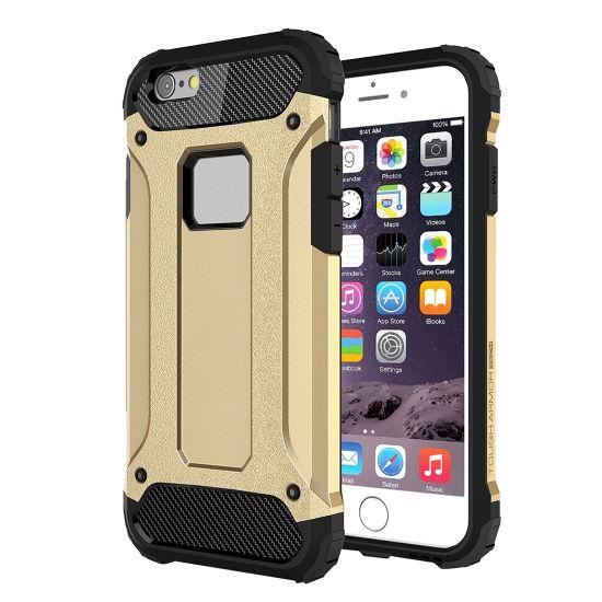 Mobigear Outdoor - Coque arrière en Plastique rigide pour iPhone 6(s) - Or