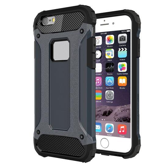 Mobigear Outdoor - Coque arrière en Plastique rigide pour iPhone 6(s) - Dark Blue