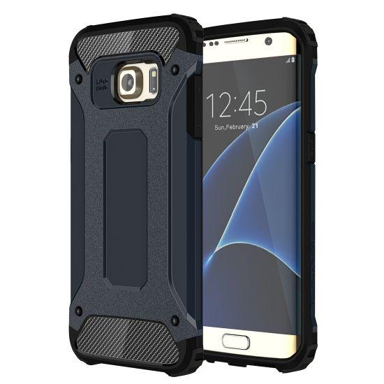 Mobigear Outdoor - Coque arrière en Plastique rigide pour Samsung Galaxy S7 Edge - Dark Blue