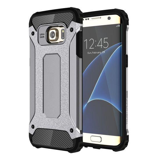 Mobigear Outdoor - Coque arrière en Plastique rigide pour Samsung Galaxy S7 Edge - Gris
