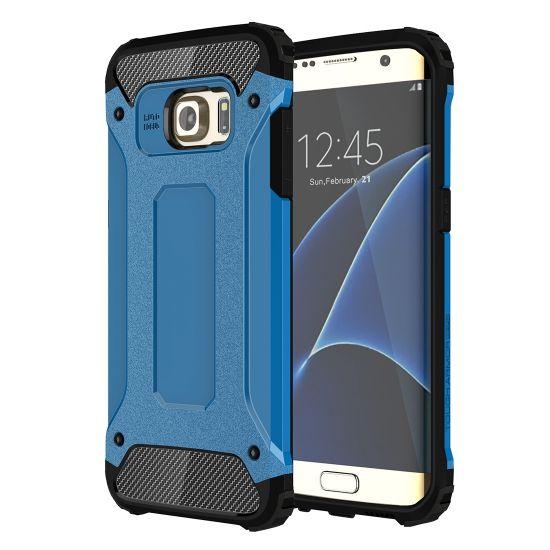 Mobigear Outdoor - Coque arrière en Plastique rigide pour Samsung Galaxy S7 Edge - Bleu