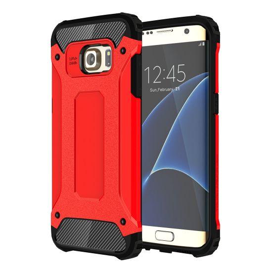 Mobigear Outdoor - Coque arrière en Plastique rigide pour Samsung Galaxy S7 Edge - Rouge