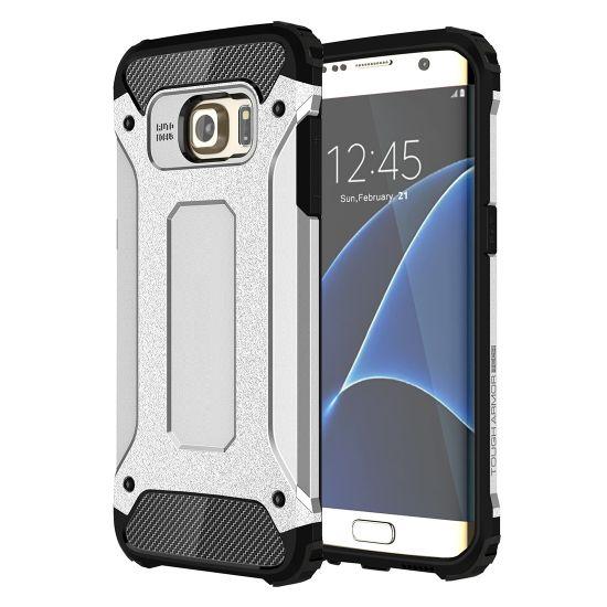 Mobigear Outdoor - Coque arrière en Plastique rigide pour Samsung Galaxy S7 Edge - Argent