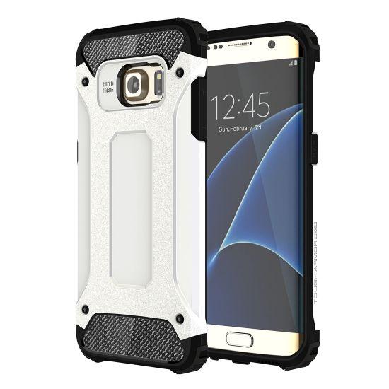 Mobigear Outdoor - Coque arrière en Plastique rigide pour Samsung Galaxy S7 Edge - Blanc