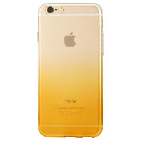 Haweel Gradient - Coque arrière en TPU pour iPhone 6(s) Plus - Orange
