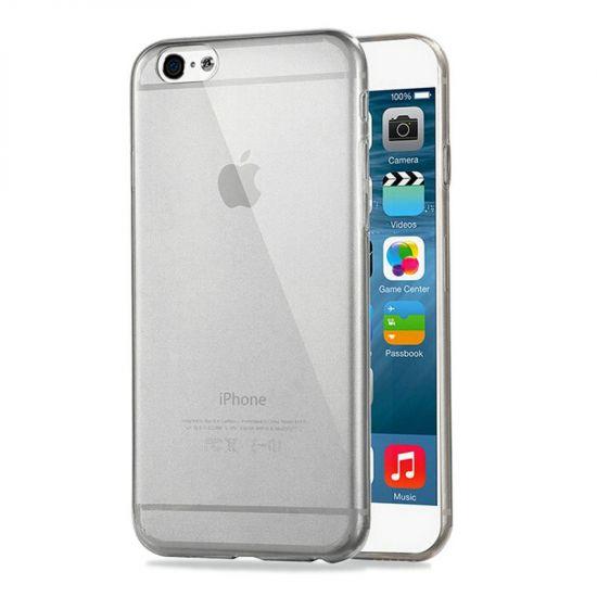 Haweel Zero - Coque arrière en TPU pour iPhone 6(s) - Noir