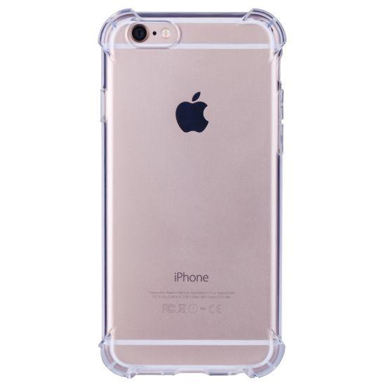 Mobigear Cushion - Coque arrière en TPU pour iPhone 6(s) - Transparent