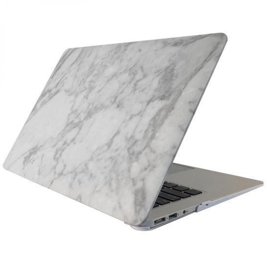 Mobigear Marble - Housse en Plastique rigide pour MacBook Pro 15 pouces A1398 - Blanc / Gris