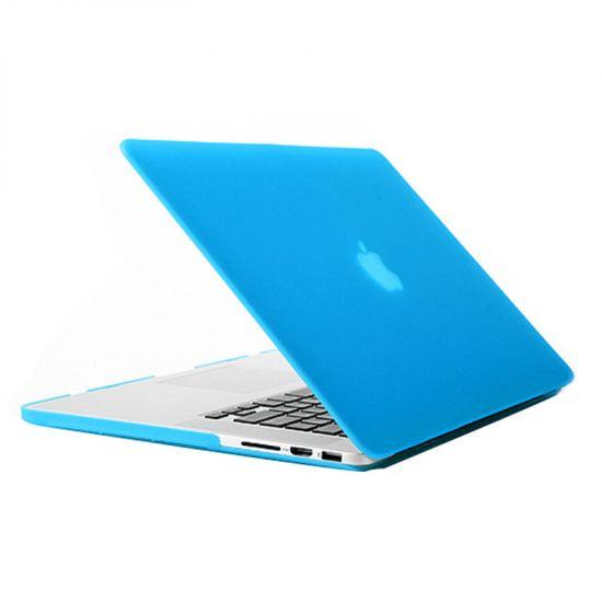 Mobigear Matte - Housse en Plastique rigide pour MacBook Pro 15 pouces A1398 - Bleu