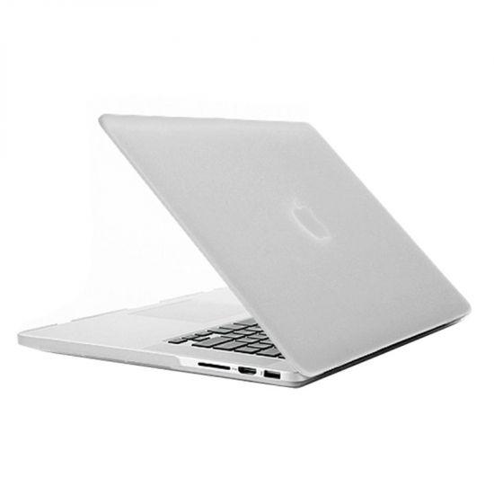 Mobigear Matte - Housse en Plastique rigide pour MacBook Pro 15 pouces - Transparent