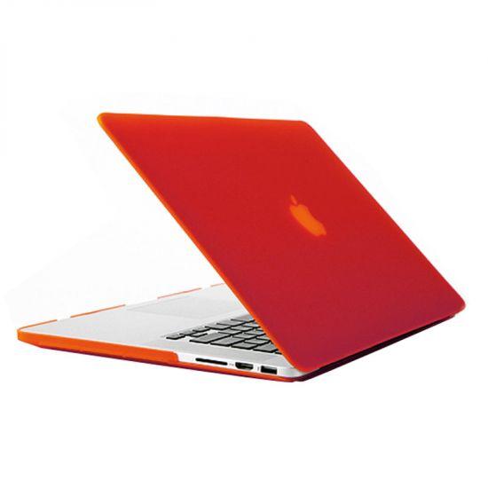 Mobigear Matte - Housse en Plastique rigide pour MacBook Pro 15 pouces - Rouge