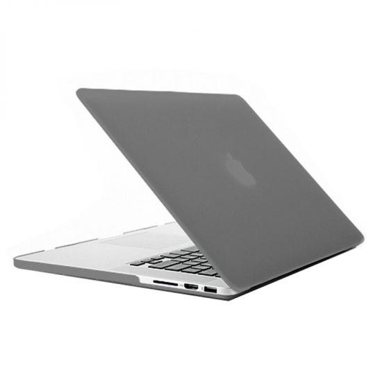 Mobigear Matte - Housse en Plastique rigide pour MacBook Pro 15 pouces A1398 - Gris