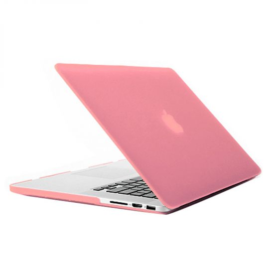Mobigear Matte - Housse en Plastique rigide pour MacBook Pro 15 pouces A1398 - Rose
