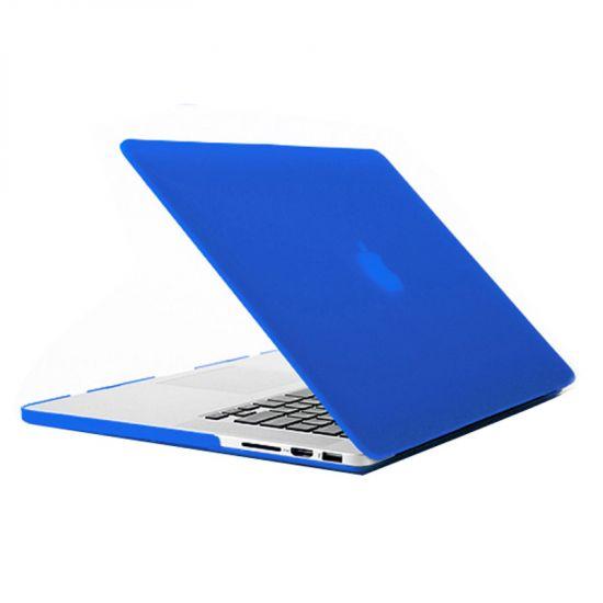 Mobigear Matte - Housse en Plastique rigide pour MacBook Pro 15 pouces - Dark Blue