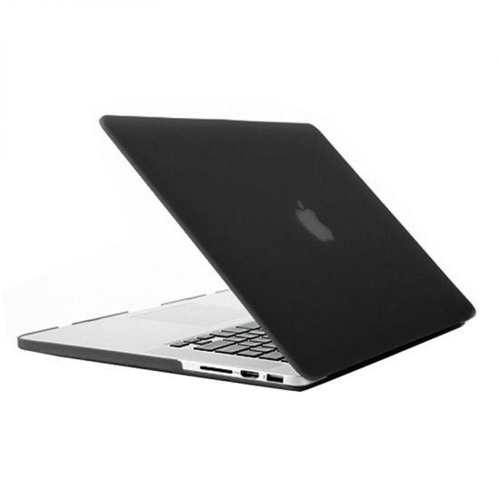 Mobigear Matte - Housse en Plastique rigide pour MacBook Pro 15 pouces A1398 - Noir