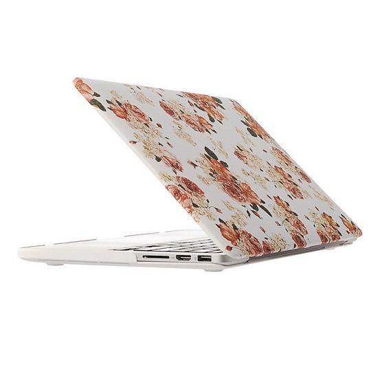 Mobigear Design - Housse en Plastique rigide pour MacBook Pro 13 pouces A1425 / A1502 - Camélia