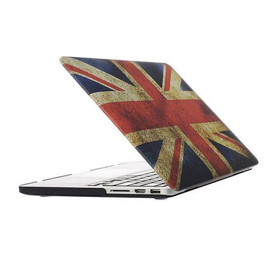 Mobigear Design - Housse en Plastique rigide pour MacBook Pro 13 pouces A1425 / A1502 - Flag Vintage UK
