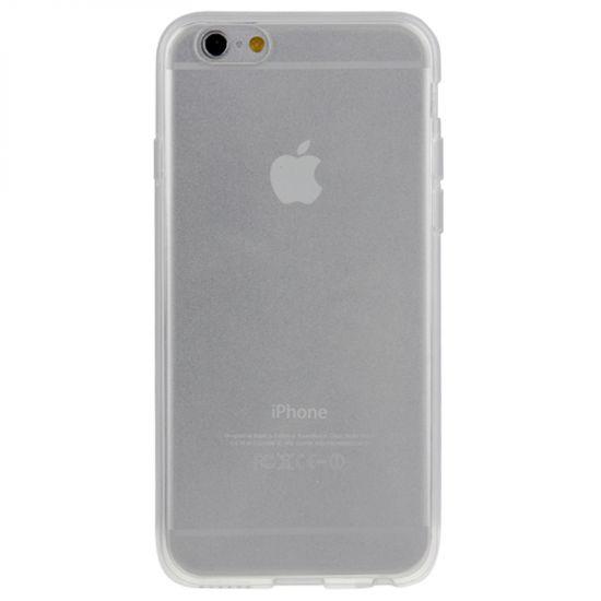 Mobigear Clear - Coque arrière en TPU pour iPhone 6(s) - Transparent
