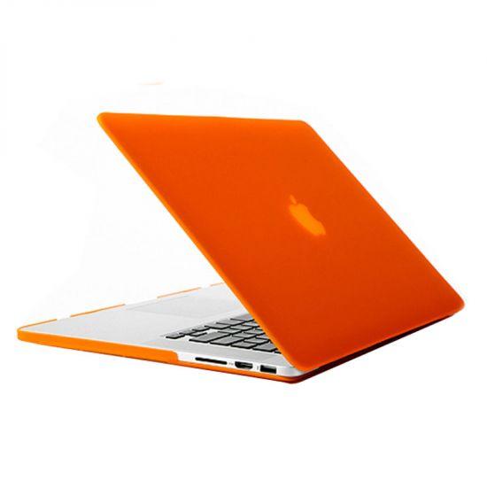 Mobigear Matte - Housse en Plastique rigide pour MacBook Pro 13 pouces A1425 / A1502 - Orange