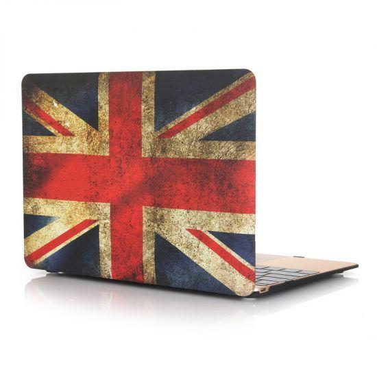 Mobigear Design - Housse en Plastique rigide pour MacBook 12 pouces - Flag Vintage UK