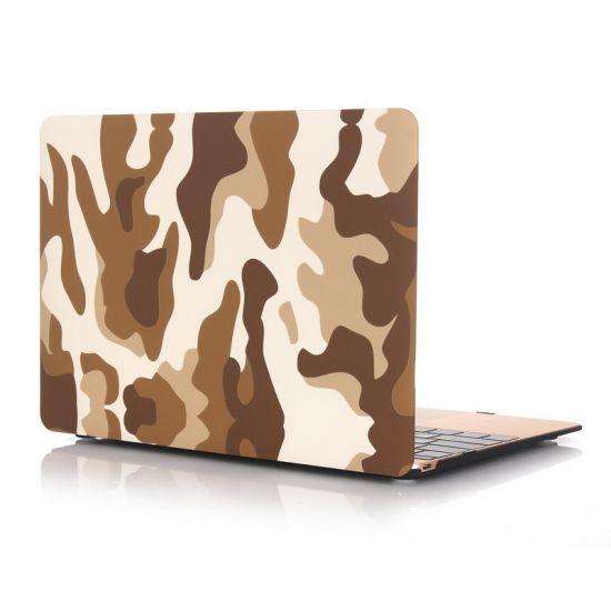 Mobigear Camouflage - Housse en Plastique rigide pour MacBook 12 pouces A1534 - Marron