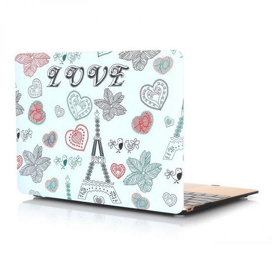 Mobigear Design - Housse en Plastique rigide pour MacBook 12 pouces - tour Eiffel
