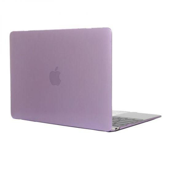 Mobigear Glossy - Housse en Plastique rigide pour MacBook 12 pouces A1534 - Lilas