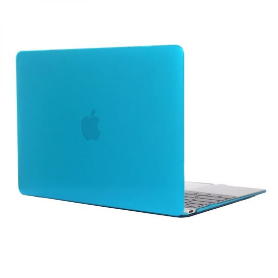 Mobigear Glossy - Housse en Plastique rigide pour MacBook 12 pouces - Bleu