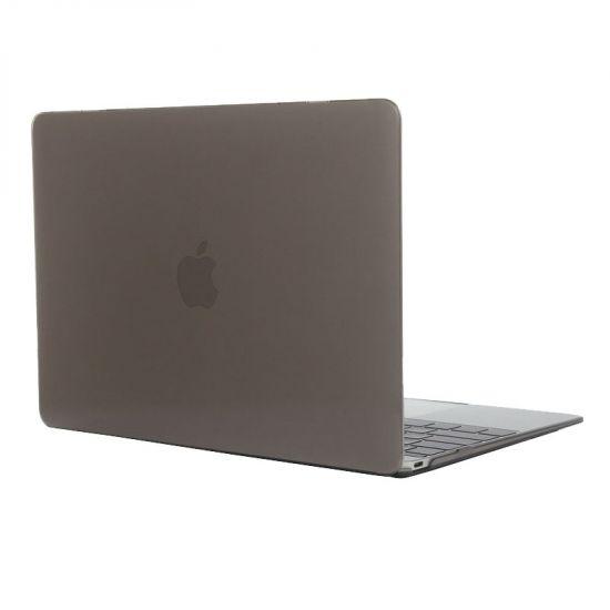 Mobigear Glossy - Housse en Plastique rigide pour MacBook 12 pouces A1534 - Gris
